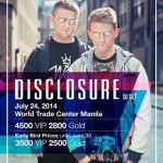 Disclosure Live at World Trade Center Manila