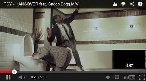 Hangover by PSY featuring Snoop Dogg Video