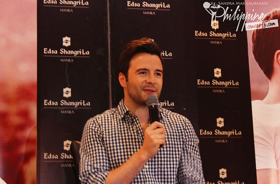Shane Filan's concert in Manila set in October