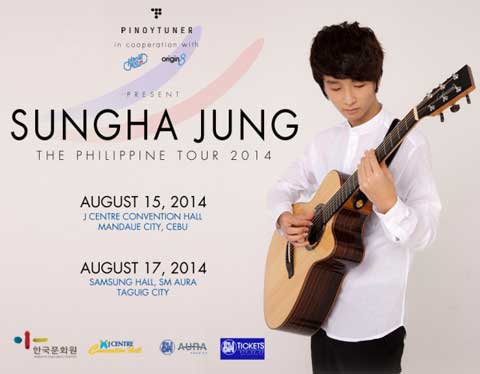 Sungha Jung Live in Manila and Cebu 2014