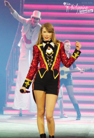 Taylor Swift Red Tour Manila 2014