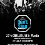 CNBLUE Live in Manila 2014