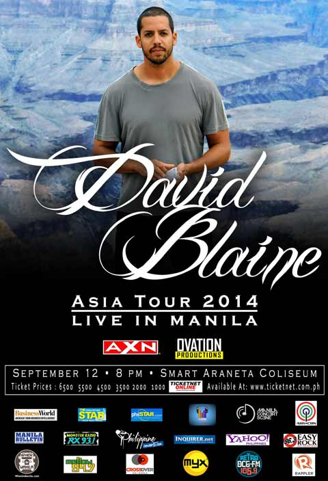 David Blaine Live in Manila