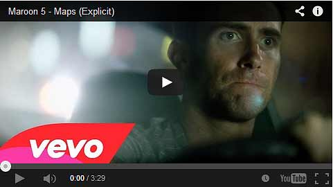 Maps by Maroon 5 Music Video
