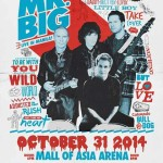 Mr. Big Live in Manila 2014