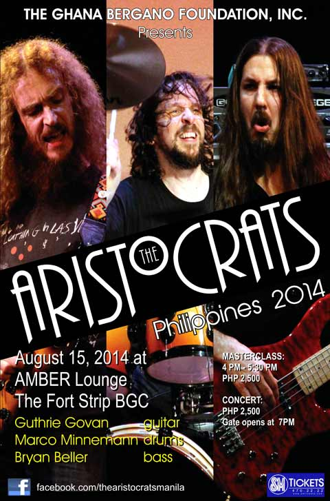 The Aristocrats Live in Manila 2014