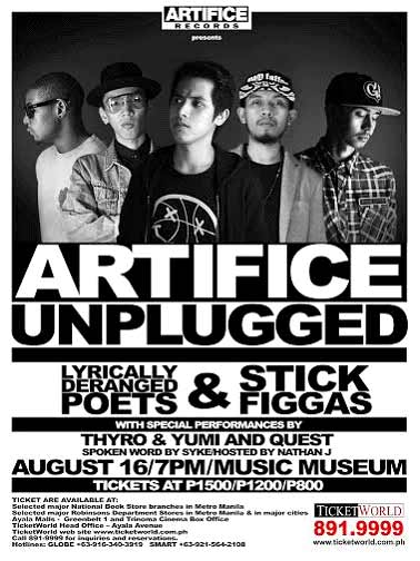 Artifice Unplugged at the Music Museum
