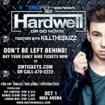 Hardwell Live in Manila on October 1 at MOA Arena