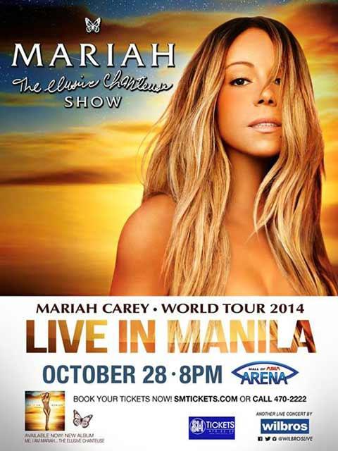 Mariah Carey Live in Manila 2014