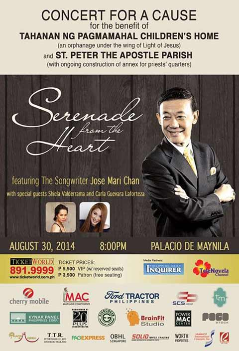 Serenade from the Heart featuring Jose Mari Chan