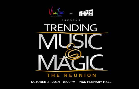 Trending Music & Magic The Reunion Concert 2014