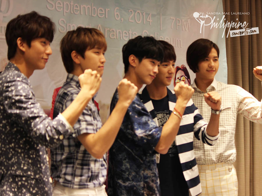 B1A4's Road Trip is now in Manila