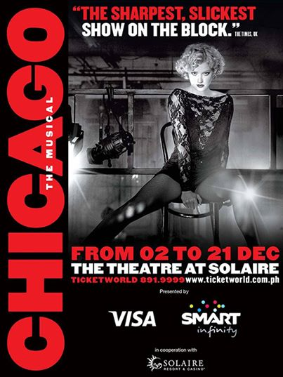 Chicago The Musical at Solaire Resort