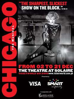 Chicago The Musical Manila Tickets