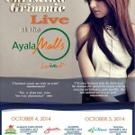Christina Grimmie to do 3 shows live at the Ayala Malls