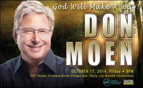 Don Moen Live in Manila 2014
