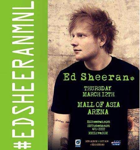 Ed Sheeran Live in Manila 2015