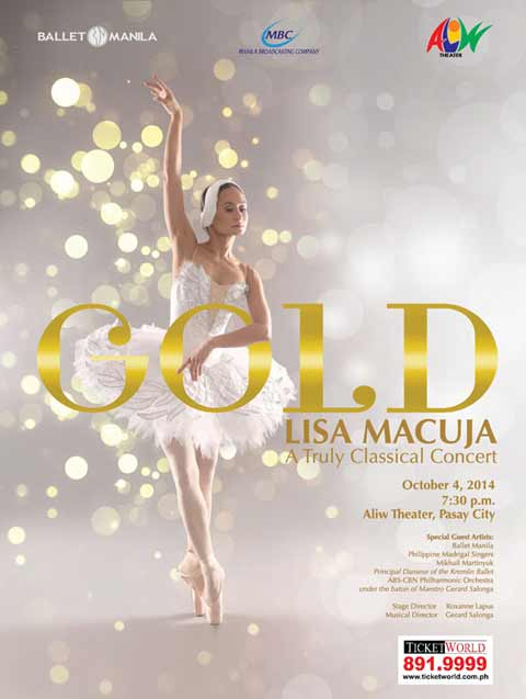 GOLD: Lisa Macuja – A Truly Classical Concert