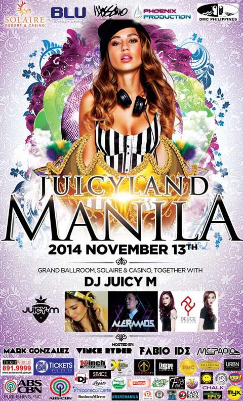 Win Tickets to watch #JuicyLandManila at Solaire Resort
