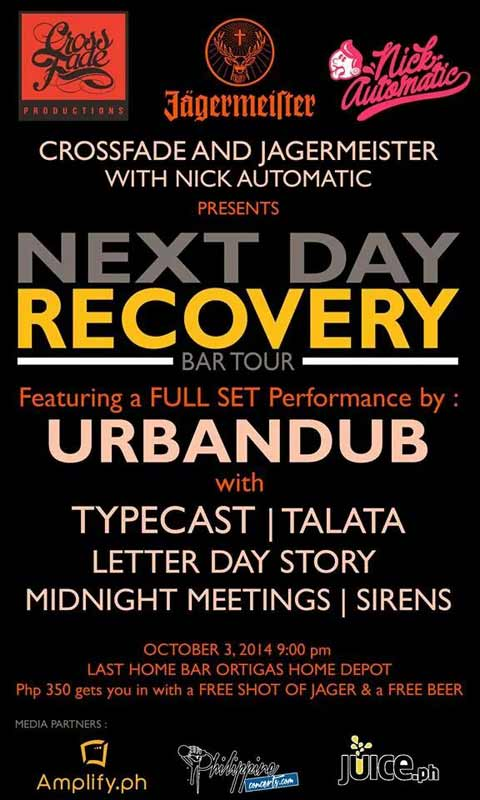 Next Day Recovery Bar Tour at Last Home Bar