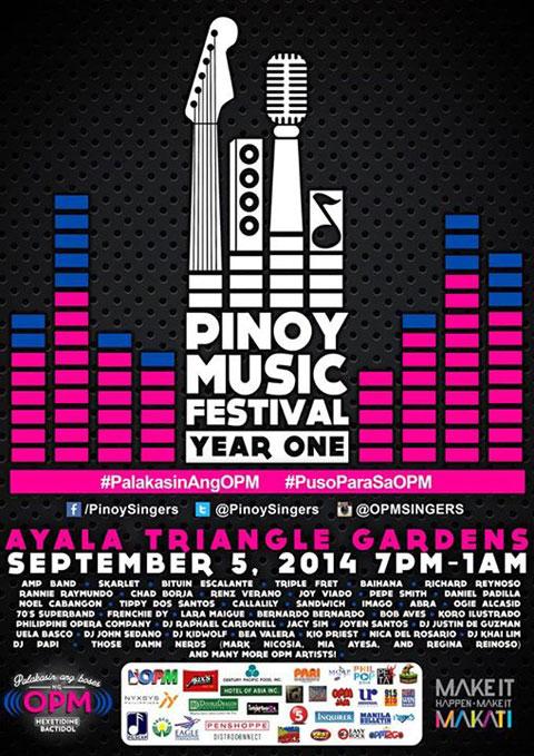 Pinoy Music Festival 2014