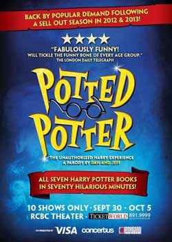 Potted Potter Manila Tickets
