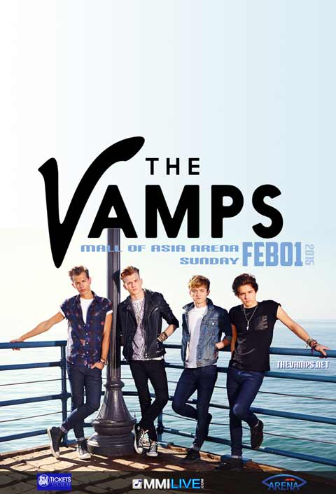 The Vamps Live in Manila 2015 MOA Arena