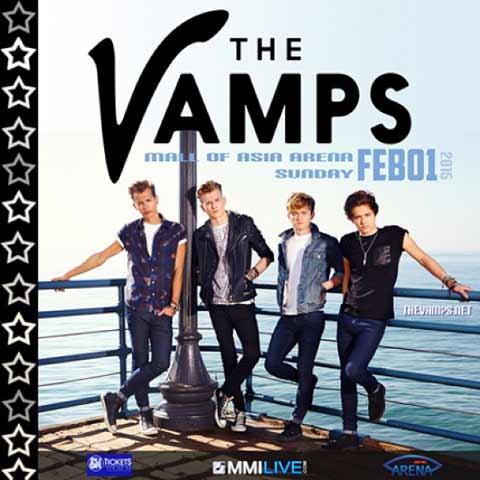 The Vamps Live in Manila 2015