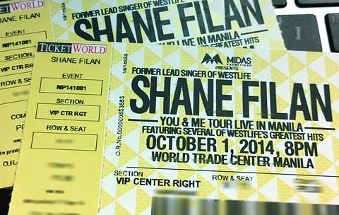 Win Tickets to Watch Shane Filan Live in Manila