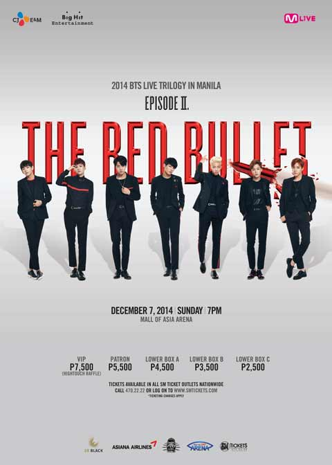 Bangtan Boys Live in Manila – The Red Bullet