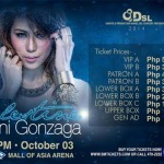 Celestine…Toni Gonzaga Concert at MOA Arena