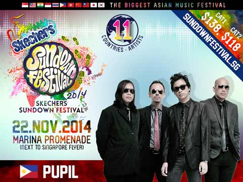 Ely Buendia/Pupil to perform in Sundown Music Festival 2014