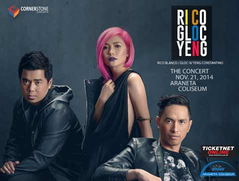 ICON The Concert - Rico Blanco, Gloc-9 and Yeng Constantino