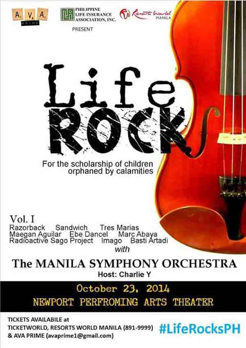 Life Rocks at Resorts World Manila