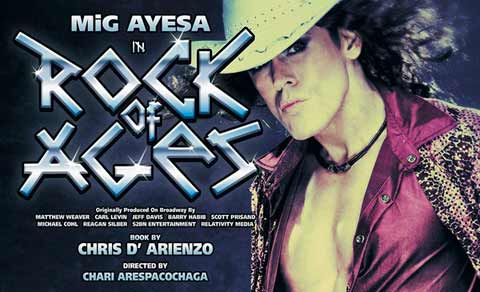 Rock of Ages Musical Manila 2014