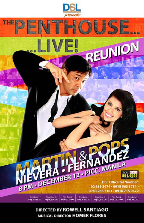 The Penthouse… Live! Reunion Martin Nievera and Pops Fernandez
