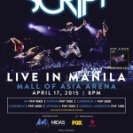 The Script Live in Manila 2015