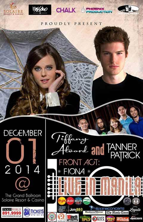Tiffany Alvord and Tanner Patrick Live in Manila