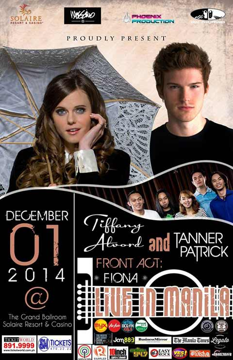 Tiffany Alvord and Tanner Patrick Live in Manila