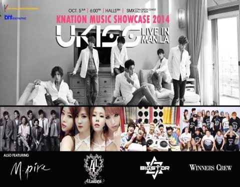 U-Kiss Live in Manila 2014