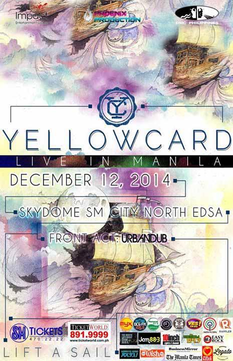 Yellowcard Live in Manila 2014