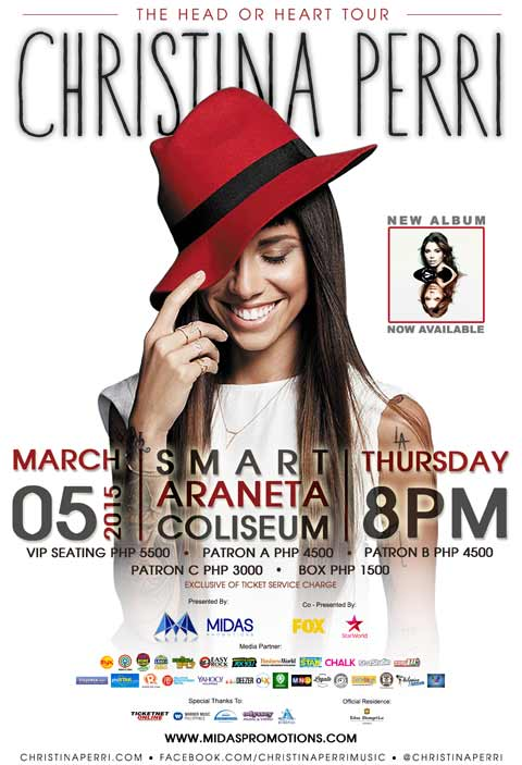 Christina Perri Live in Manila 2015