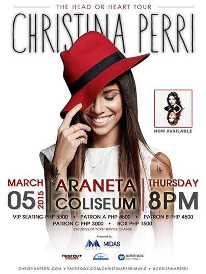 Christina Perri Live in Manila 2015