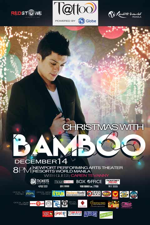 Christmas with Bamboo at Resorts World Manila