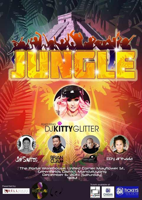 Jungle featuring DJ Kitty Glitter