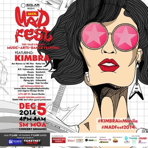 MAD Fest 2014 featuring Kimbra