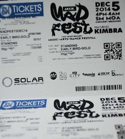 MAD Fest 2014 Ticket Promo