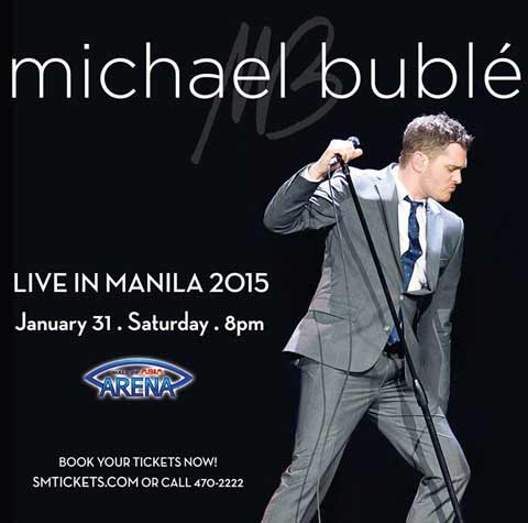 Michael Buble Live in Manila 2015
