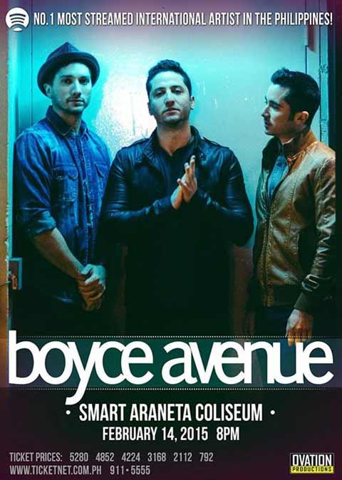 Boyce Avenue Live in Manila 2015