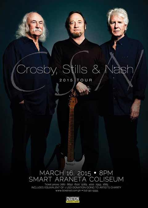 Crosby, Stills and Nash Live in Manila 2015